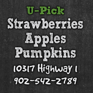 strawberries apples pumpkins